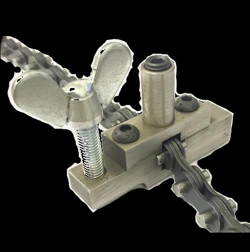 Tag e z fit mini chain pipe alignment clamps